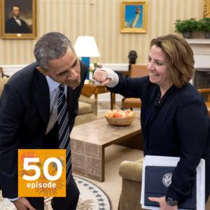 Prwsident Obama and Lisa Monaco