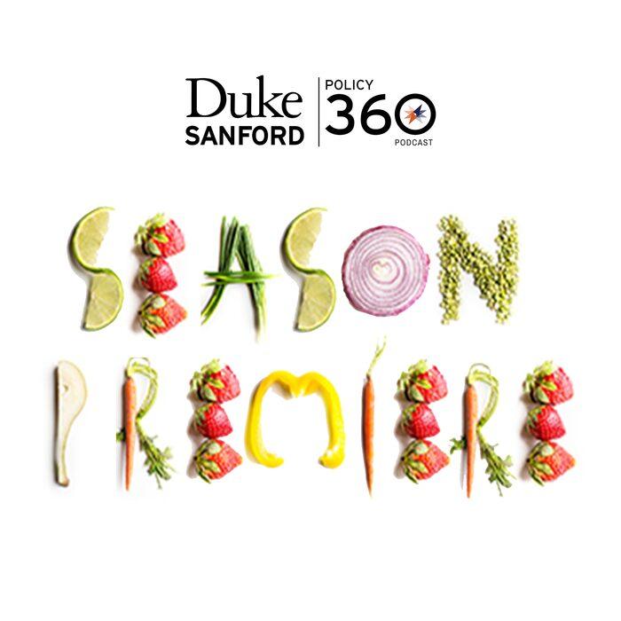 Season Premiere spelled out in vegetables