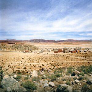 Desert - small village inn distance